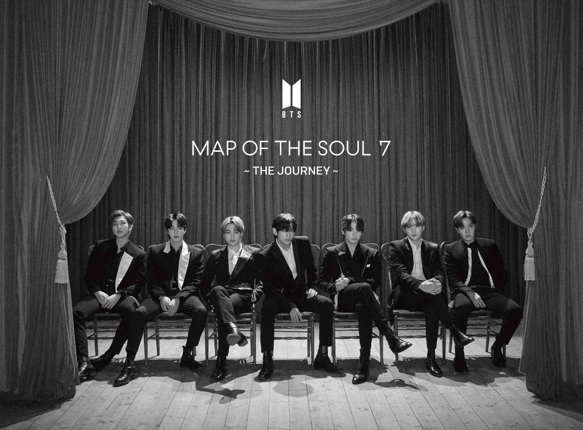 BTS Map Of The Soul 7: The Journey Type A
