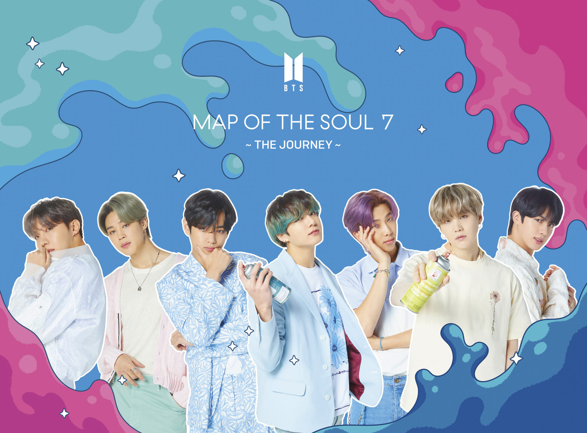 BTS Map Of The Soul 7: The Journey Type B