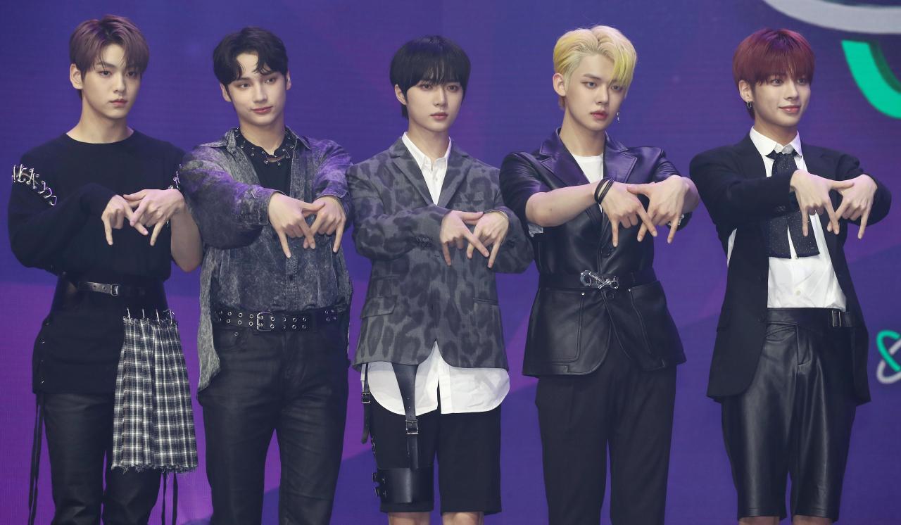 TXT 5 Members