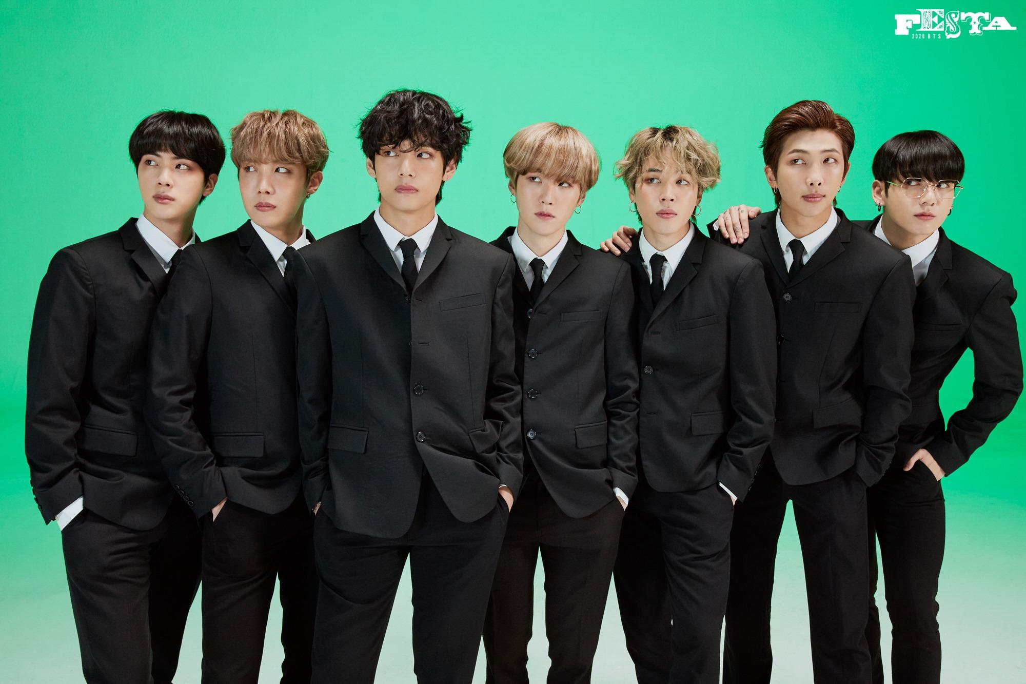 BTS Festa 2020 7th Anniversary Family Portrait 21