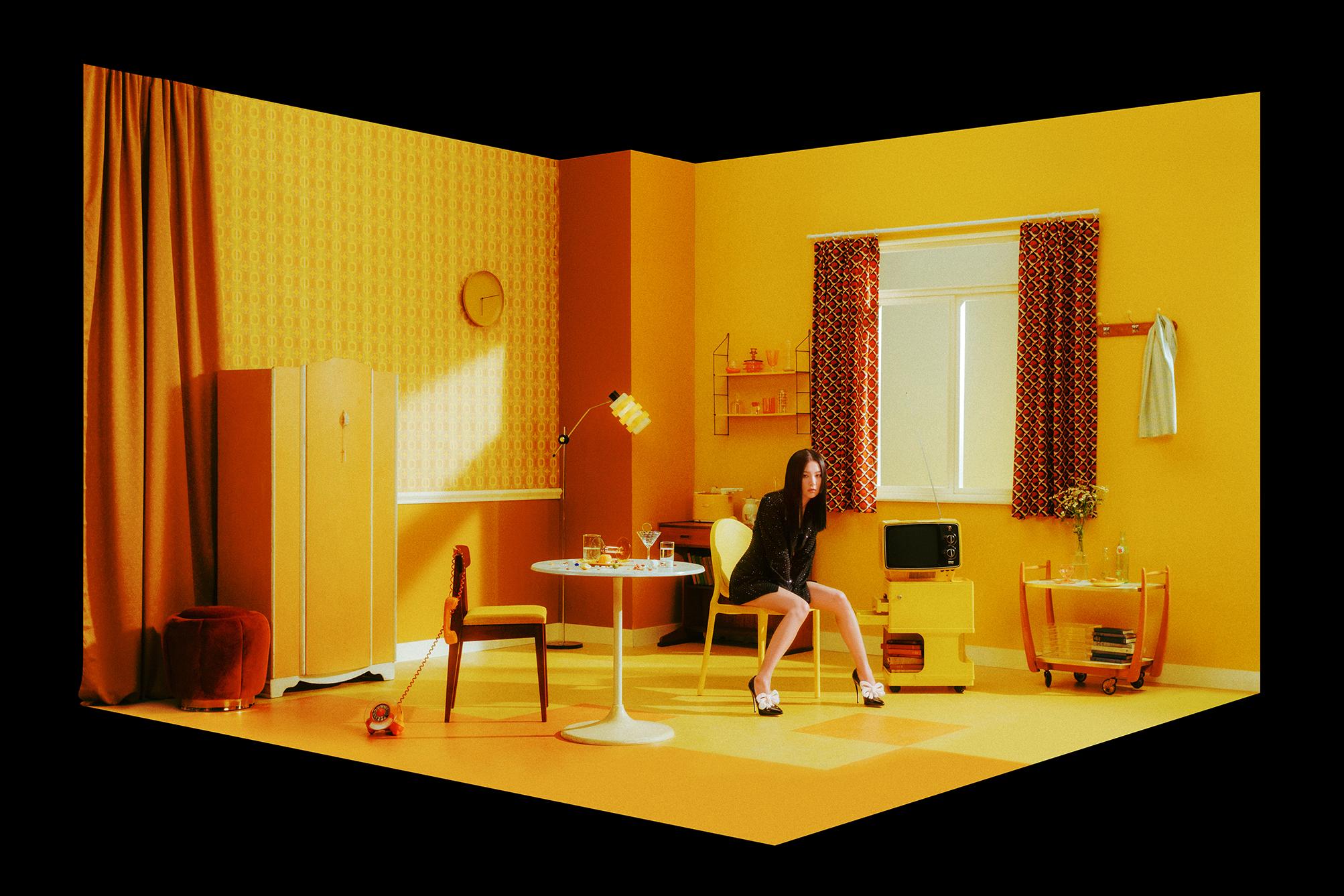irene seulgi red velvet monster mini album