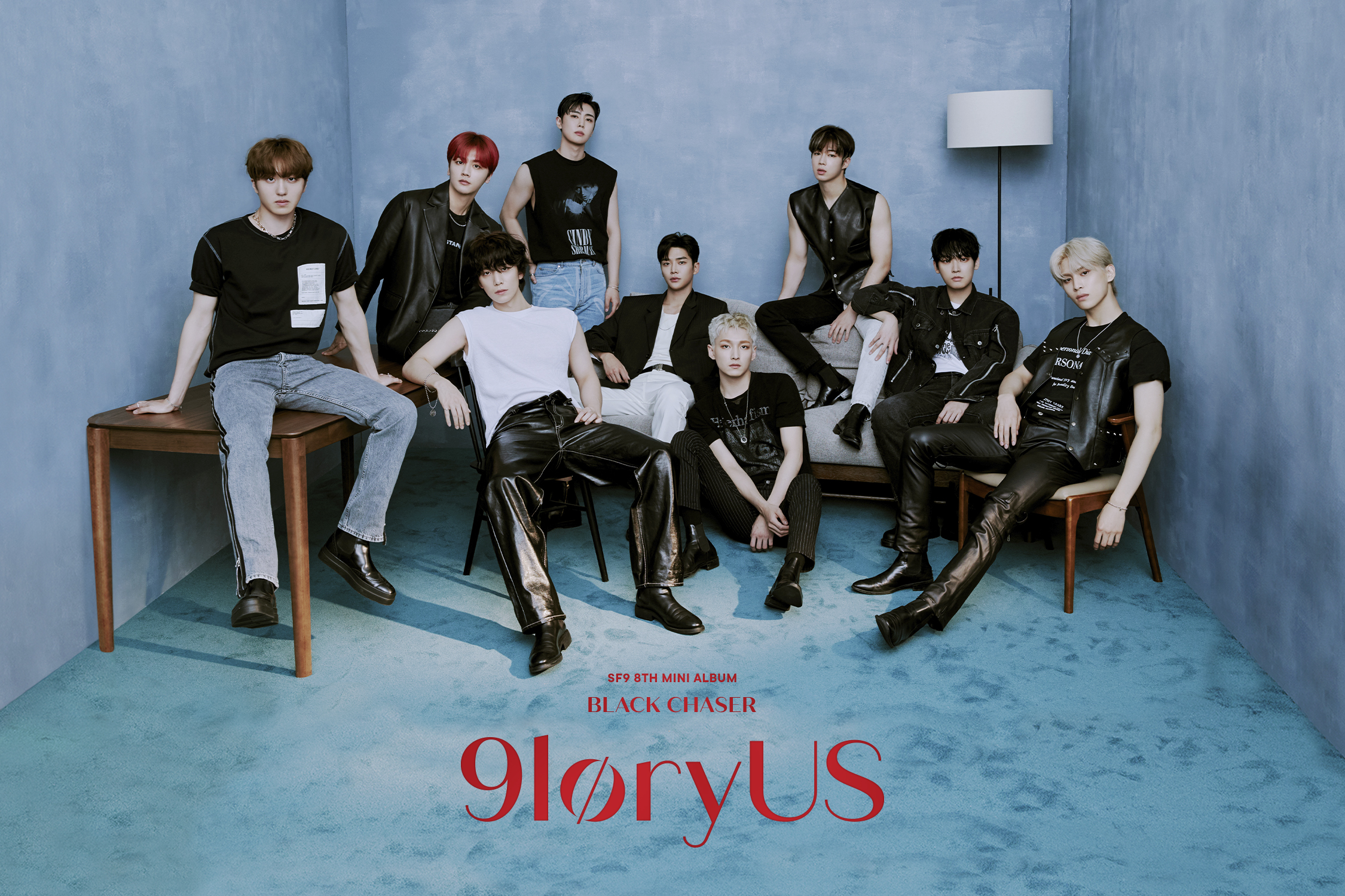SF9 9loryUs Teaser Group Black Chaser