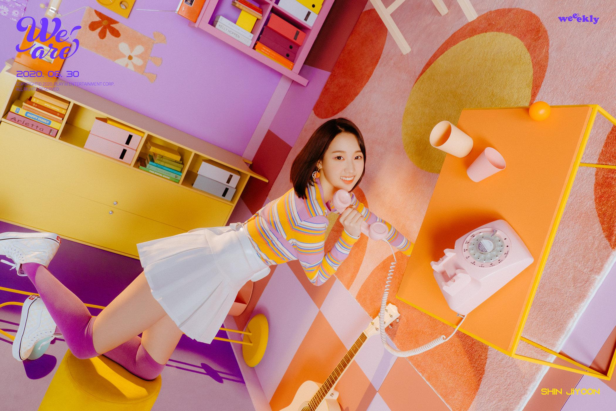 Shin Jiyoon Weeekly We Are Teaser