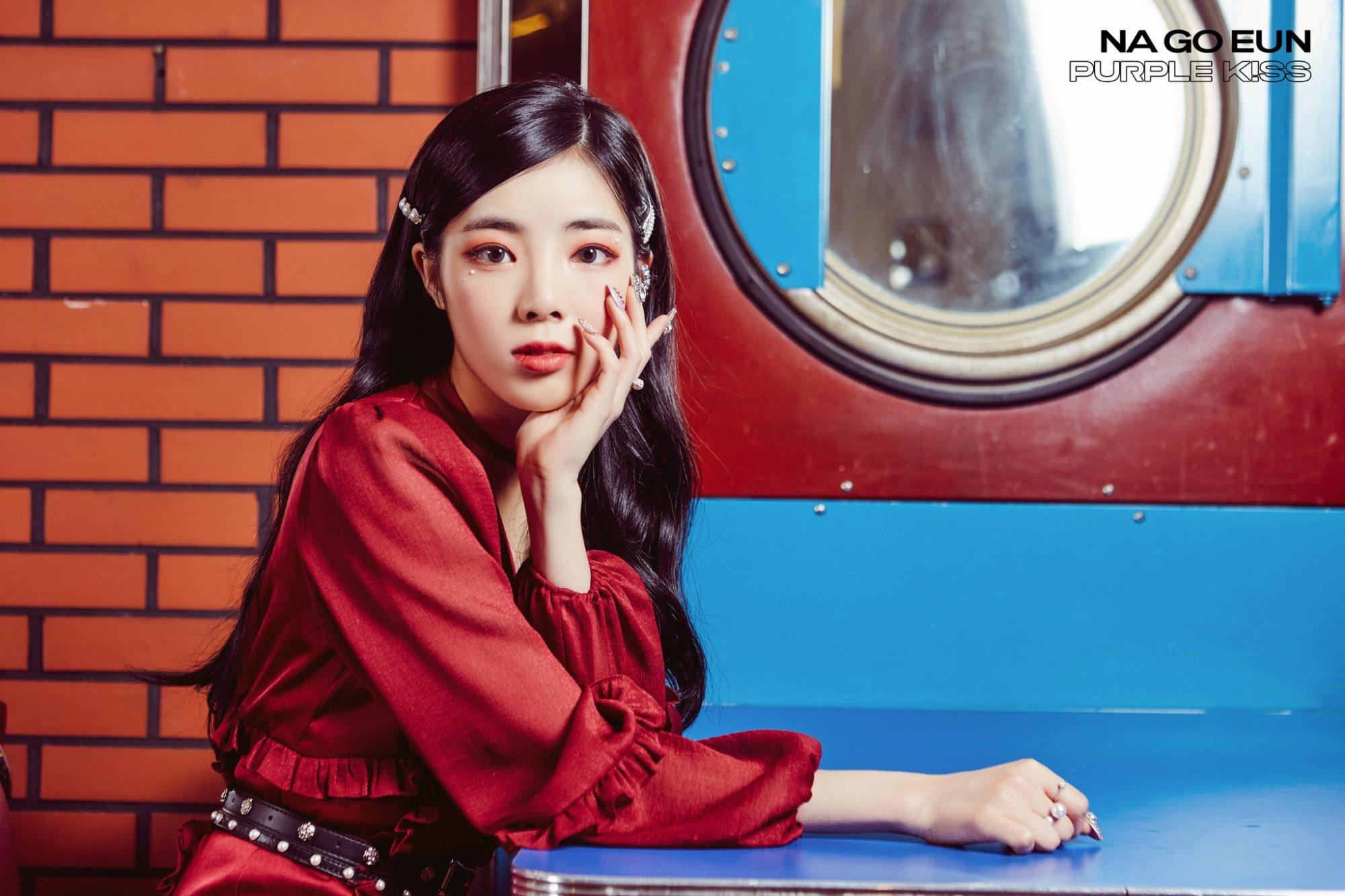 Purple Kiss Na Goeun Debut Teaser