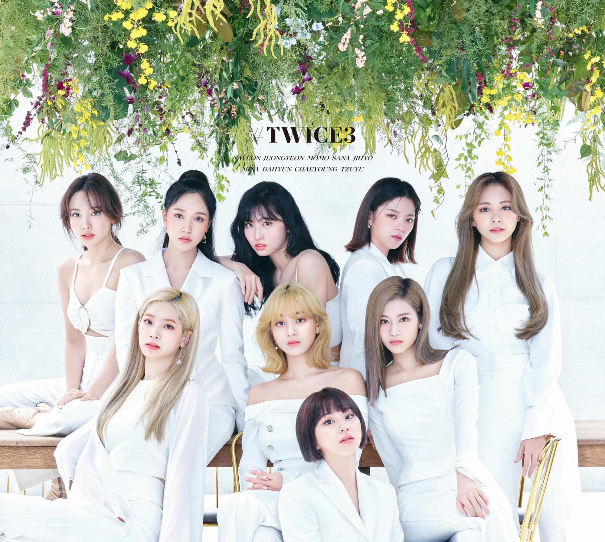 TWICE Japanese 3rd Best Album TWICE3