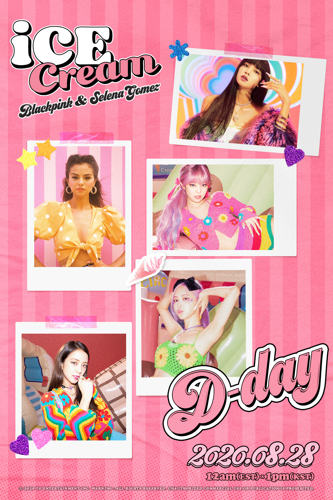Blackpink Ice Cream Posters Hd Hq K Pop Database Dbkpop Com
