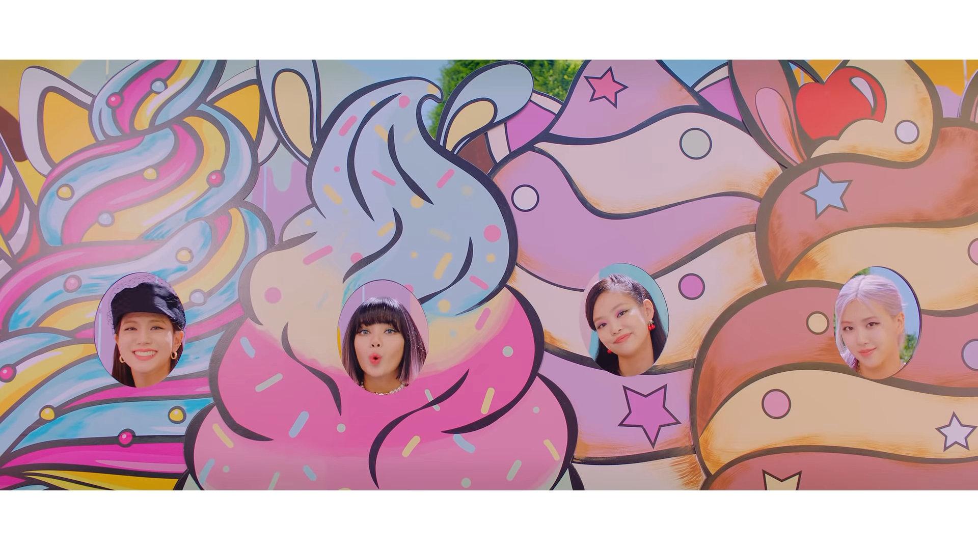 Blackpink Ice Cream with Selena Gomez MV Teaser all
