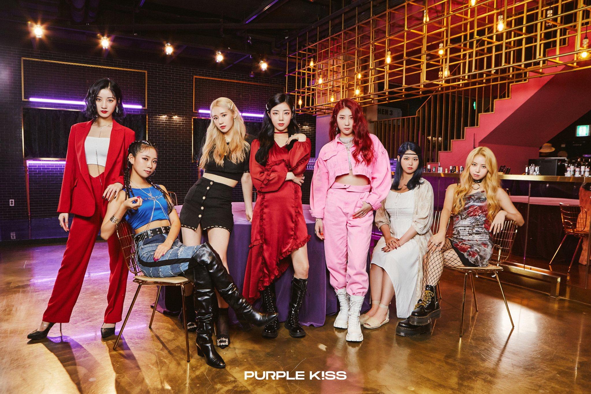 Purple Kiss Debut Teaser Group