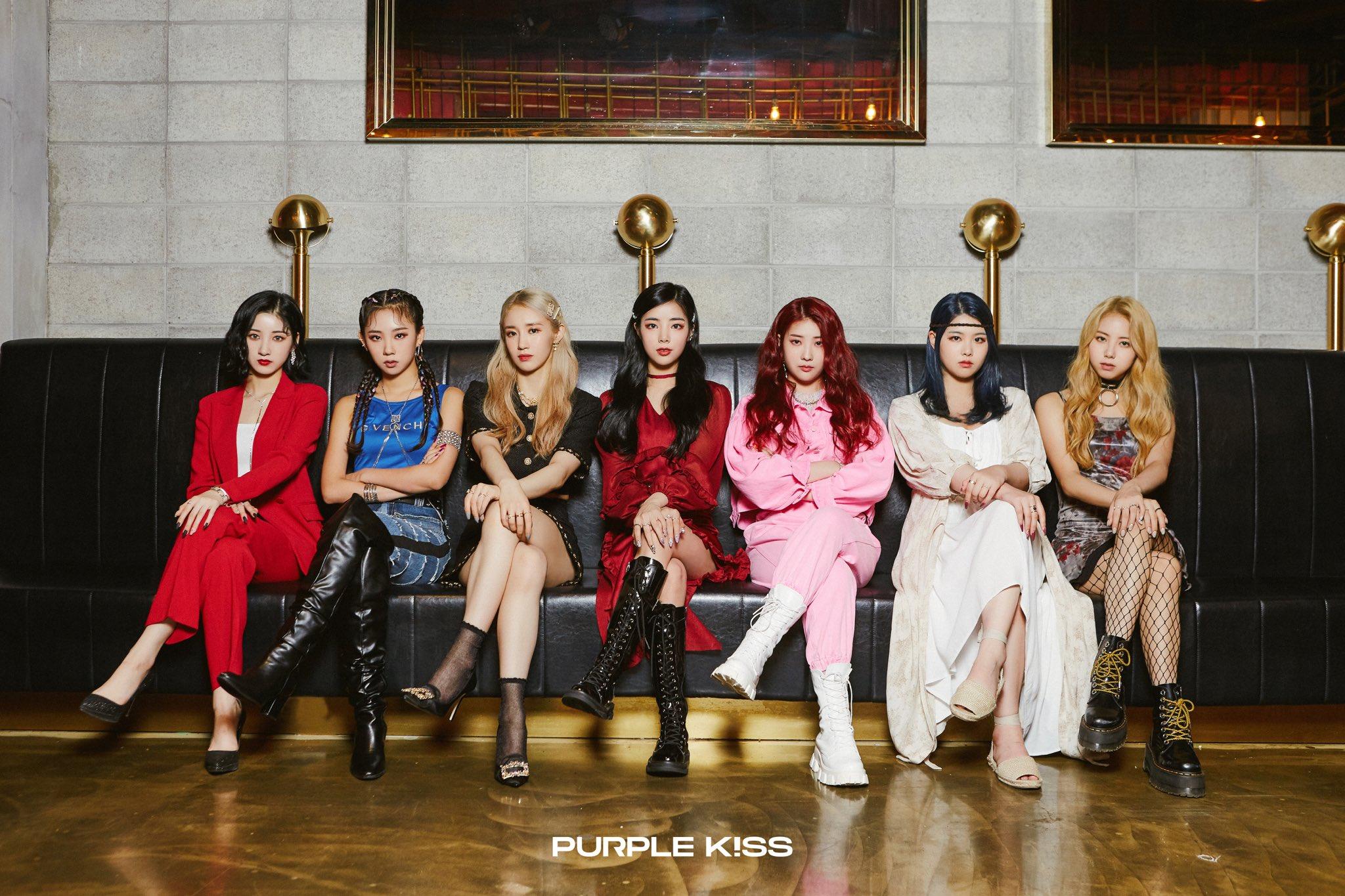 Purple Kiss Park Jieun / Dosie / Group Debut Teaser Photos (HQ/HD)