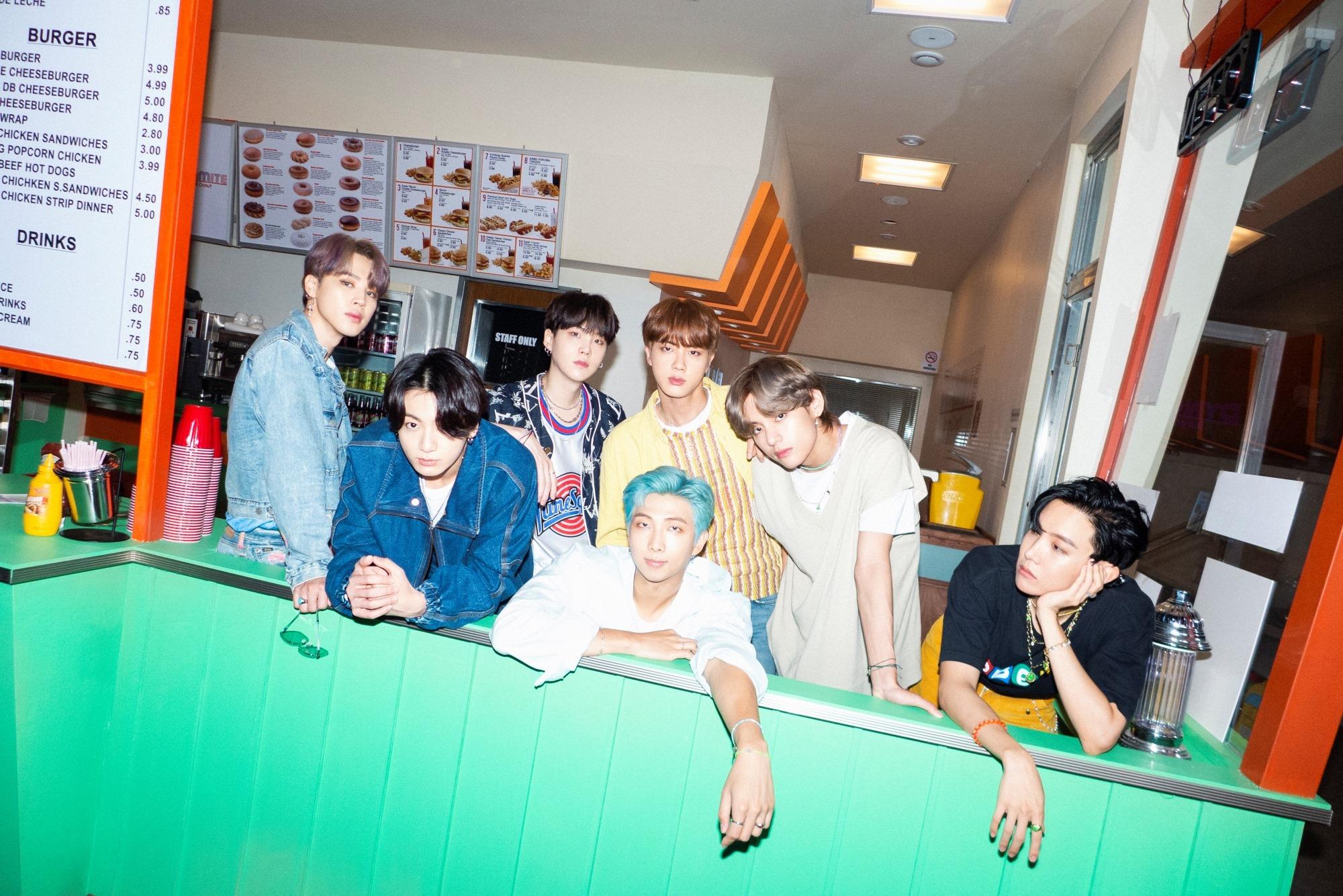 BTS Dynamite Group Teaser 2