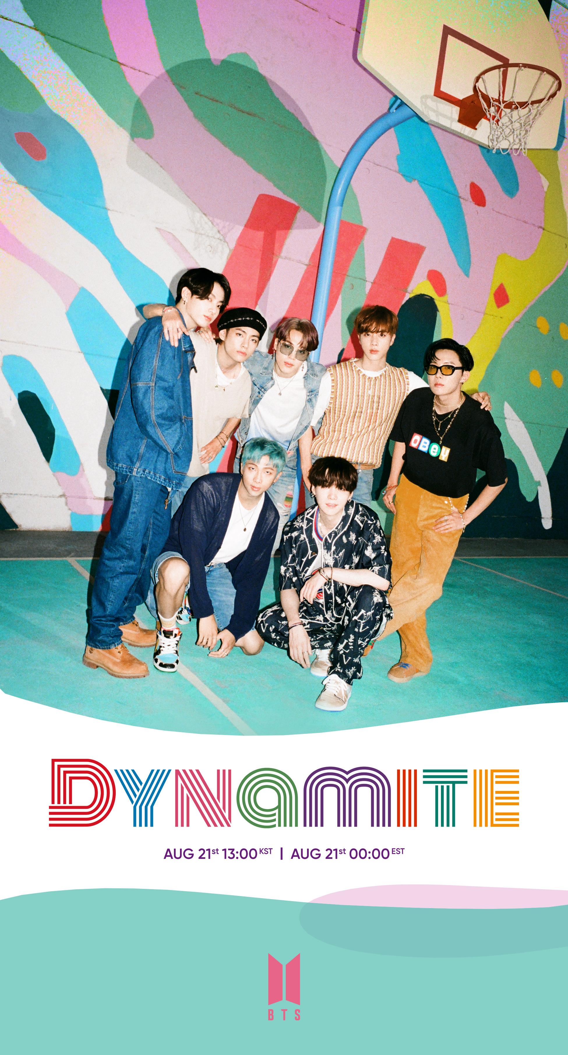 BTS Dynamite Teaser Group