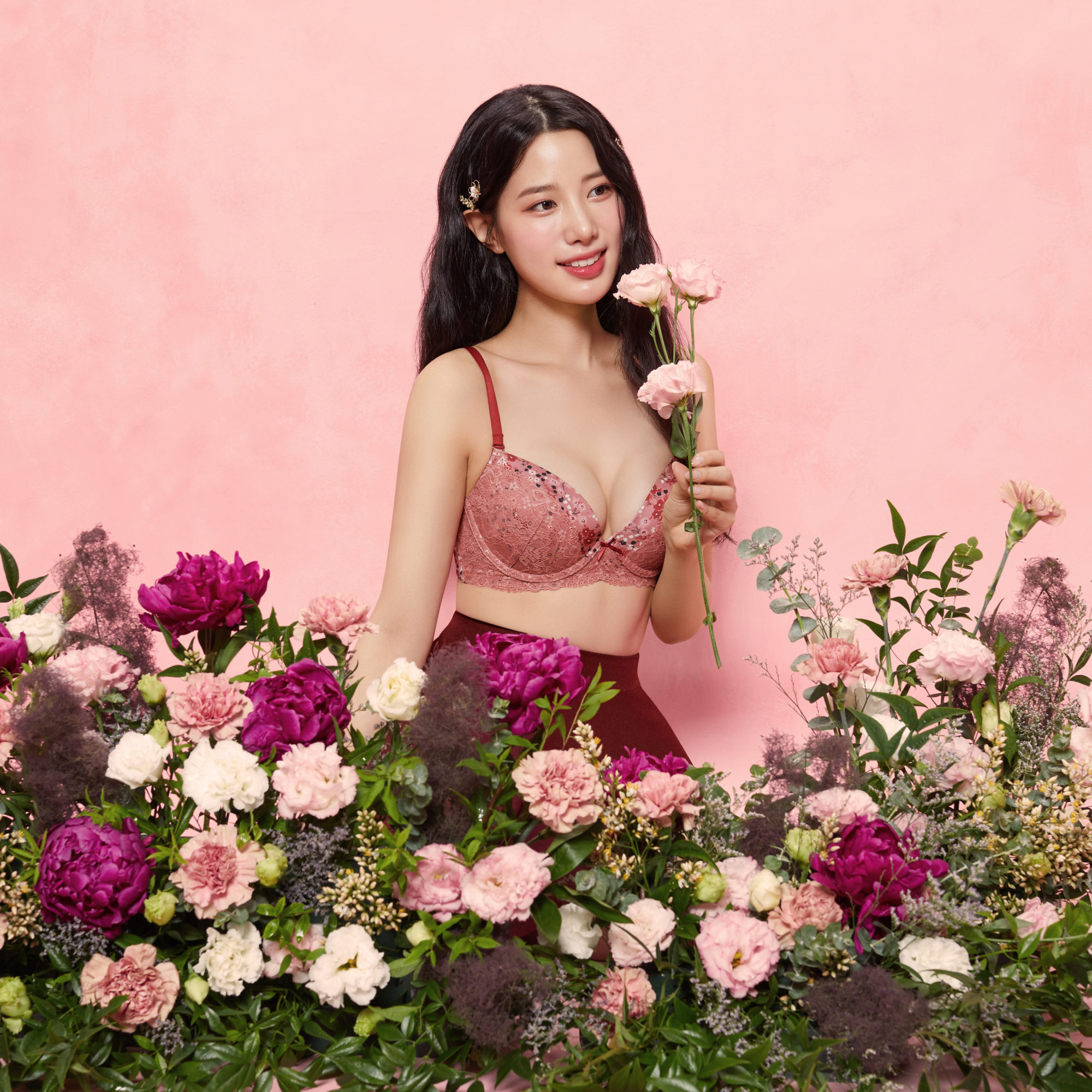 Berry Good Johyun Yes Vintage Flower Collection