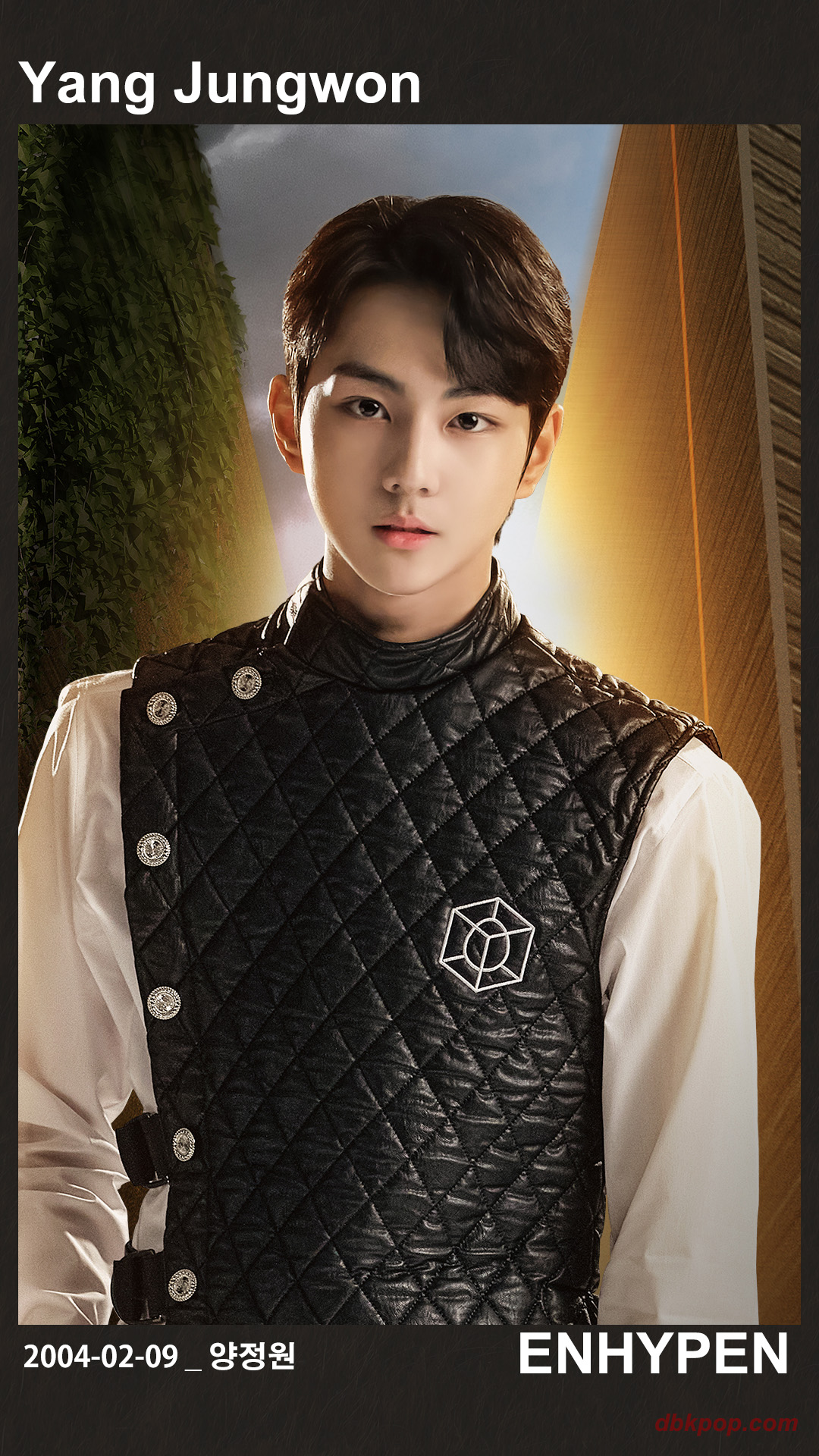 Enhypen Jungwoon Profile Card