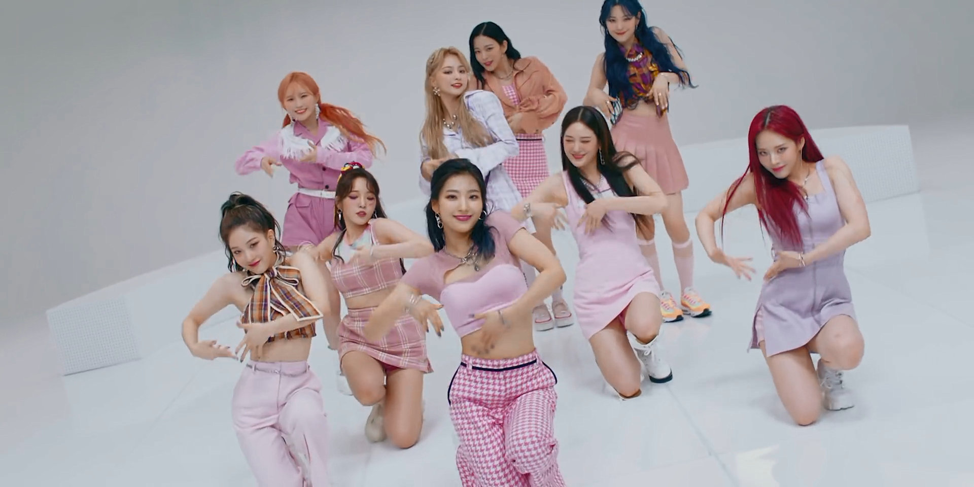 fromis_9 Feel Good (Secret Code) who's who