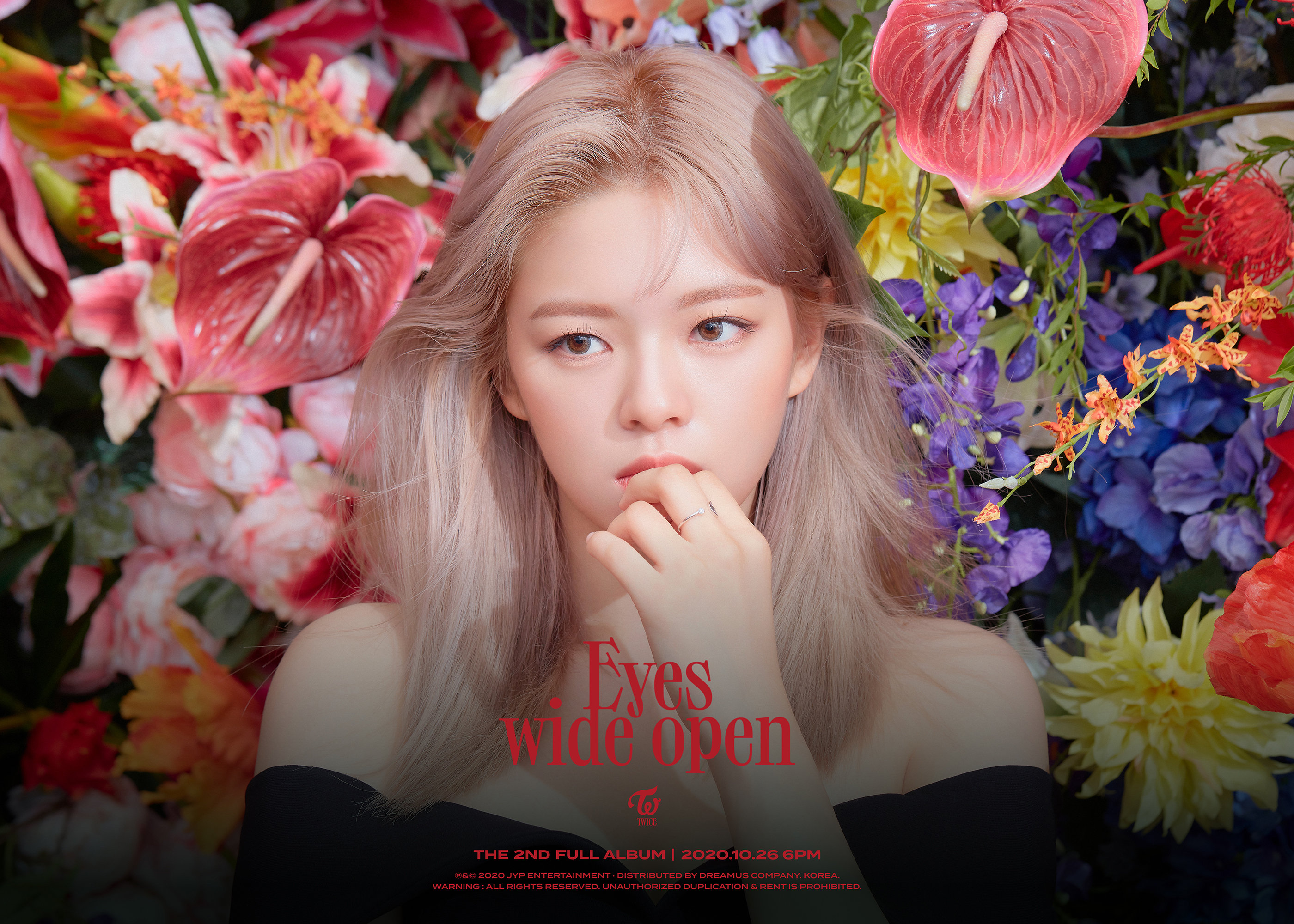 TWICE Eyes Wide Open Jeongyeon Teasers (HD/HQ)