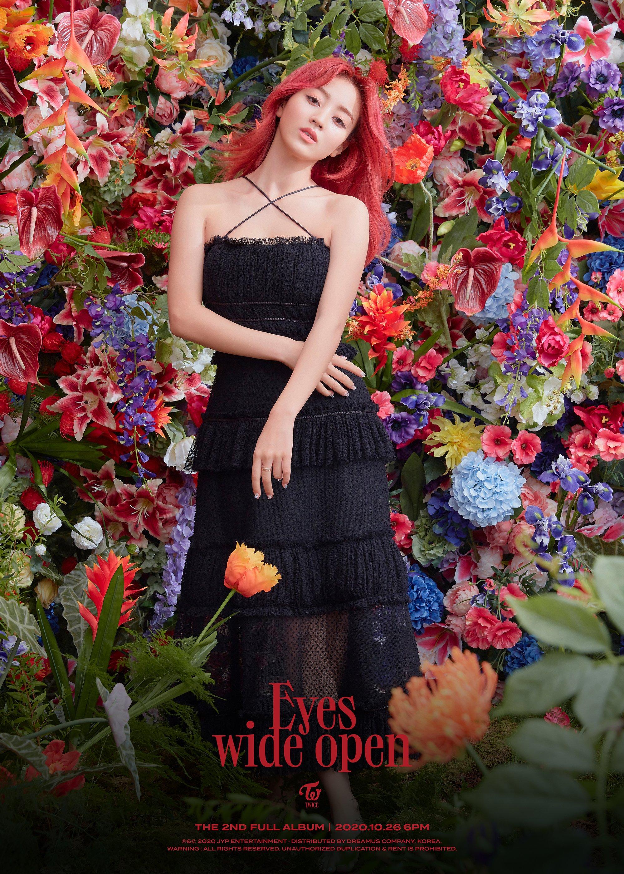 TWICE Eyes Wide Open Jihyo Teaser Story