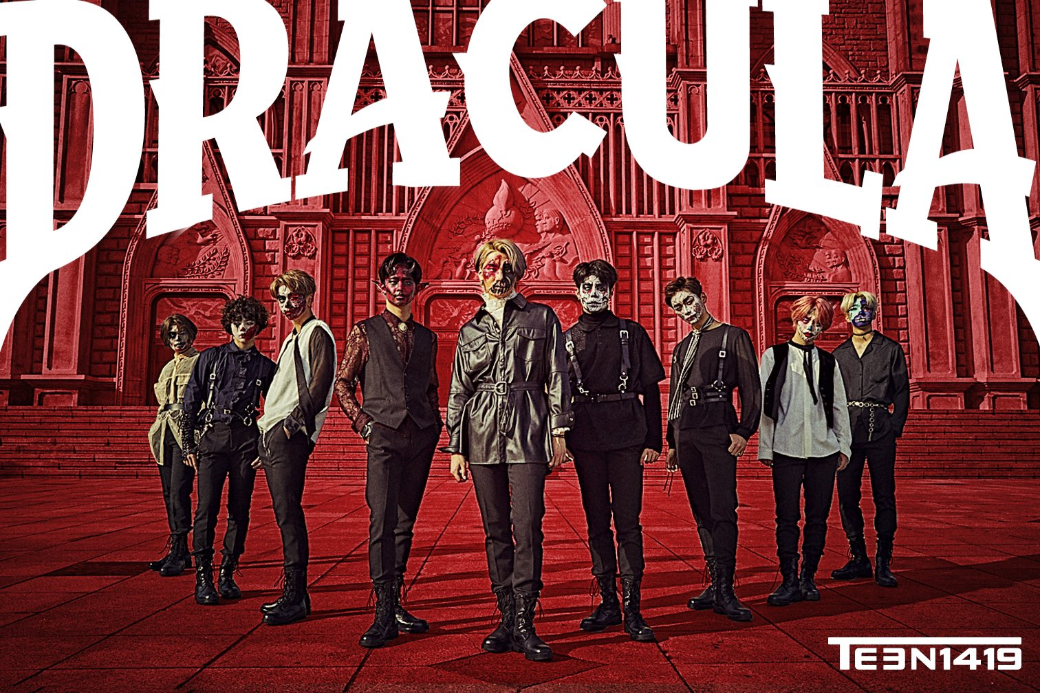 T1419 Dracula Teaser Posters (HQ) - K-Pop Database / dbkpop.com