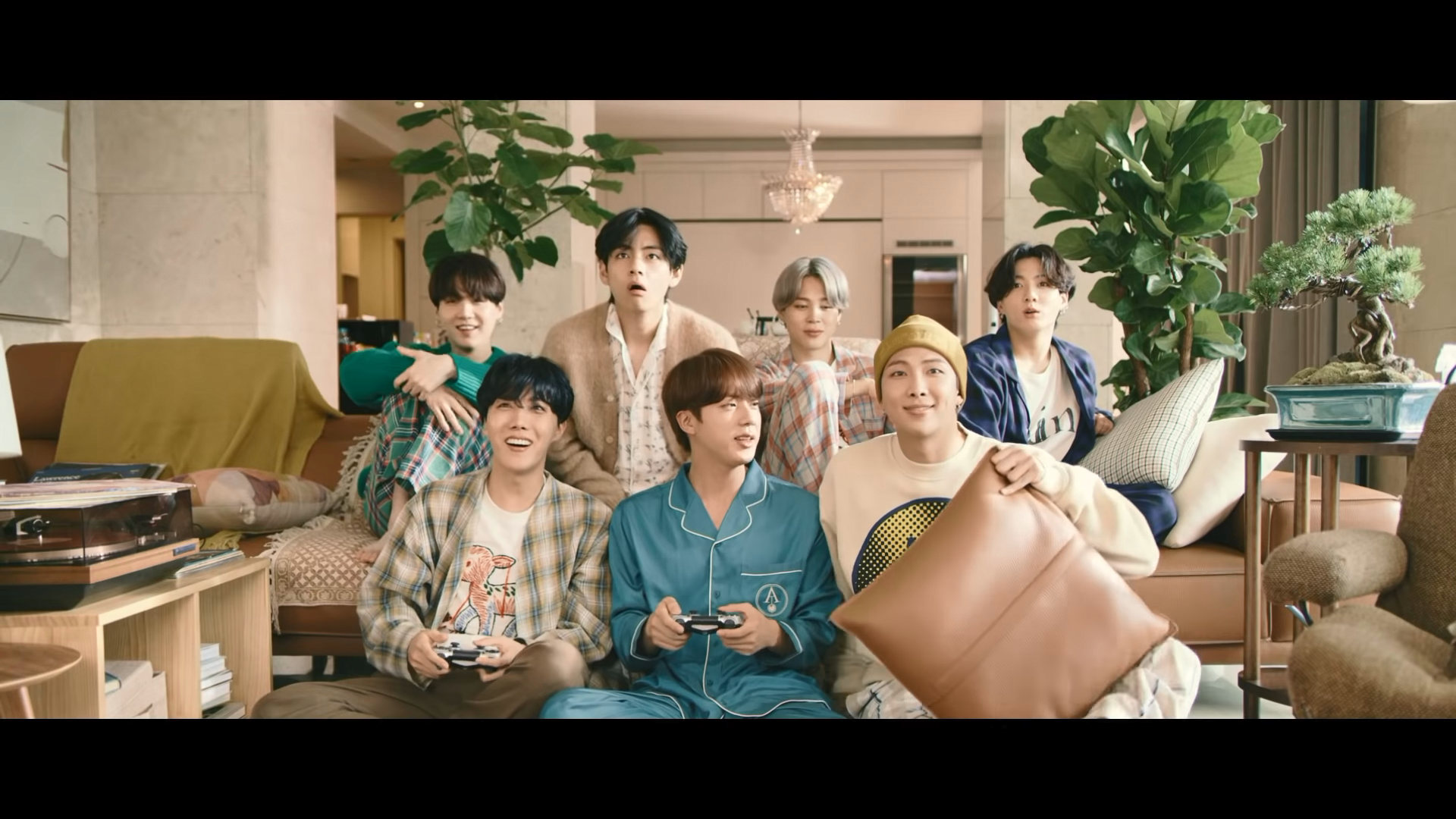 BTS Life Goes On who's who