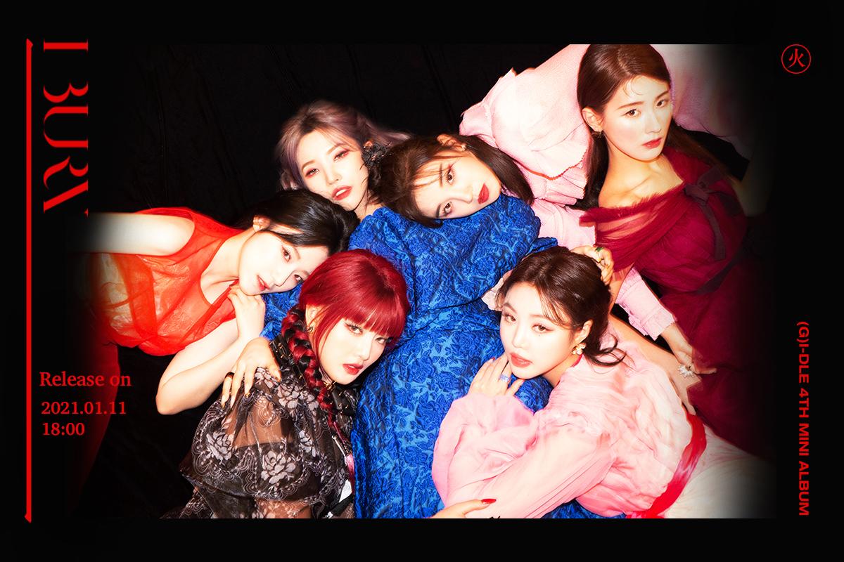 (G)I-DLE I Burn Teaser 3 Group
