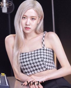 Blackpink Rose Vogue Korea x YSL Beauty April 2021