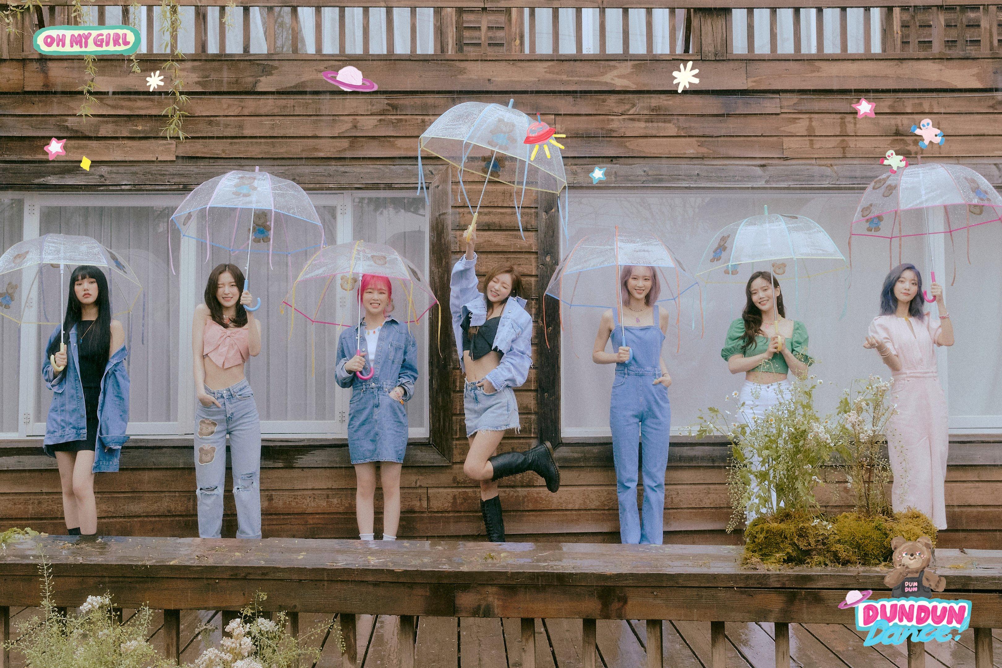OH MY GIRL - Dear OHMYGIRL Dun Dun Teaser Photos (HD/HQ) - K-Pop Database /  dbkpop.com