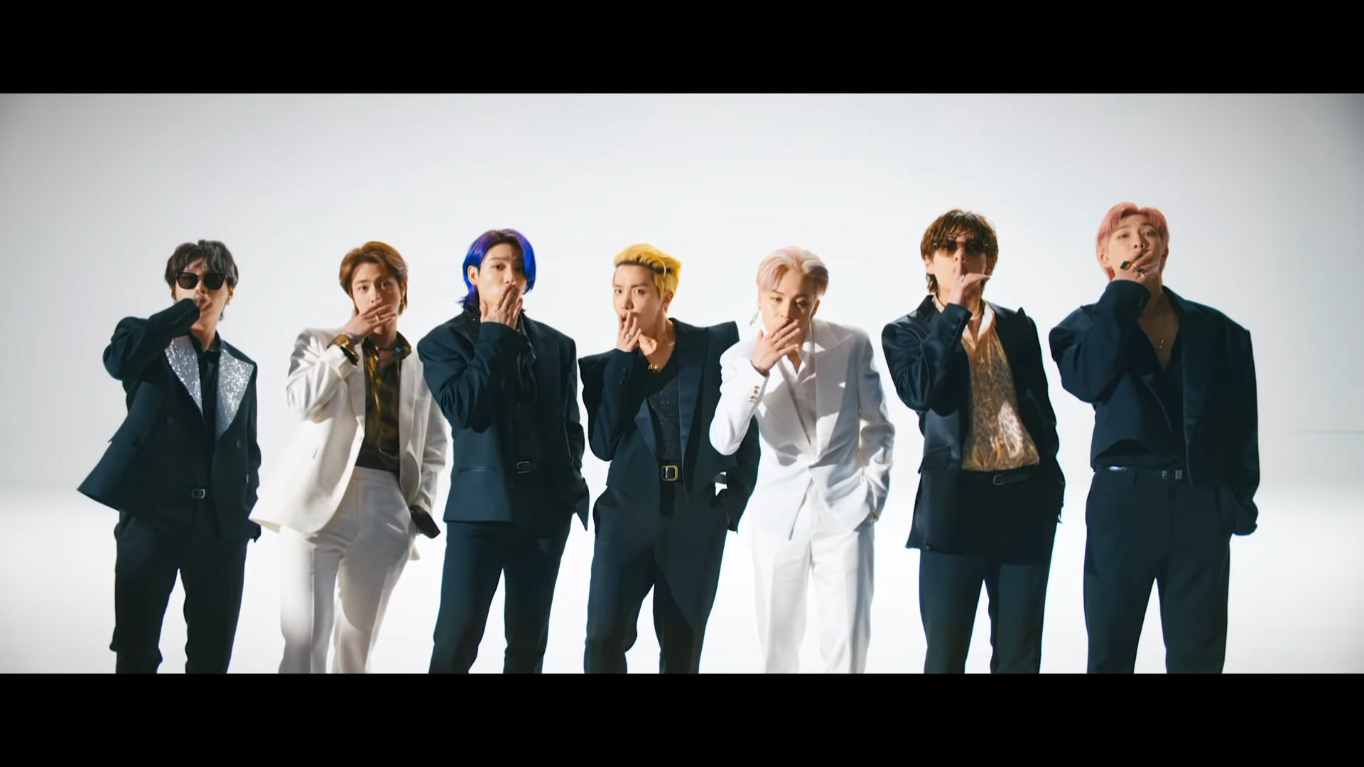 BTS Butter who's who