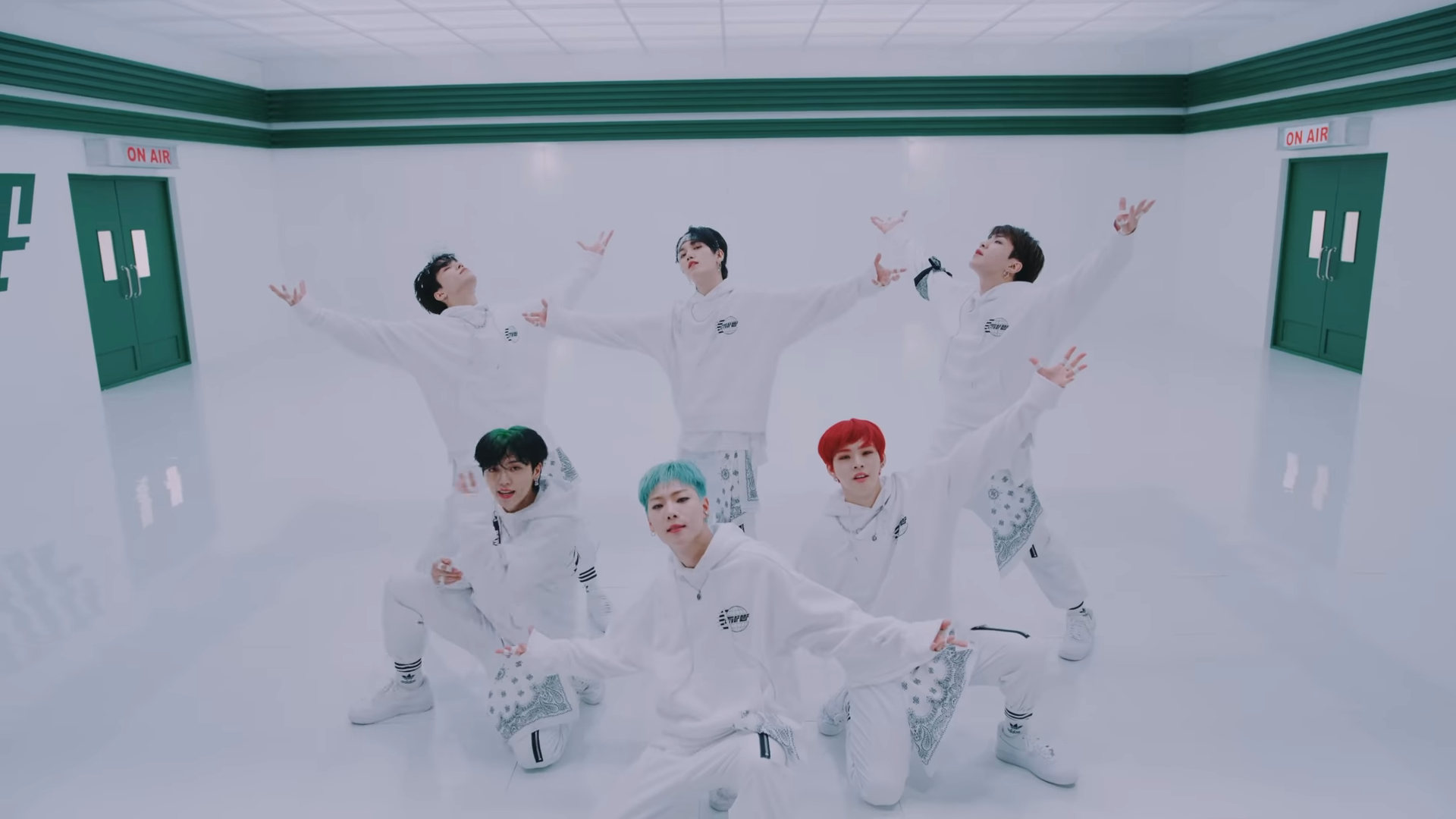 ONF Ugly Dance who's who