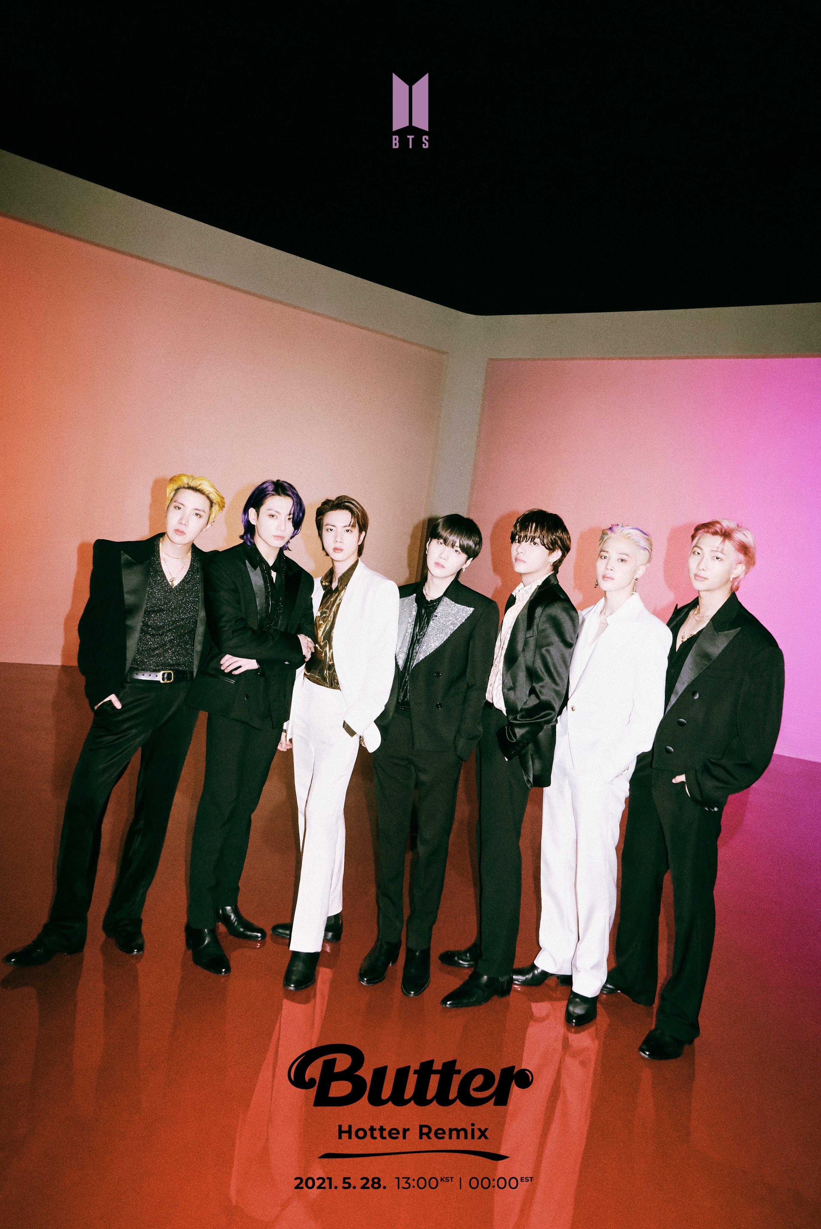 BTS Butter Hotter Remix Teaser Group
