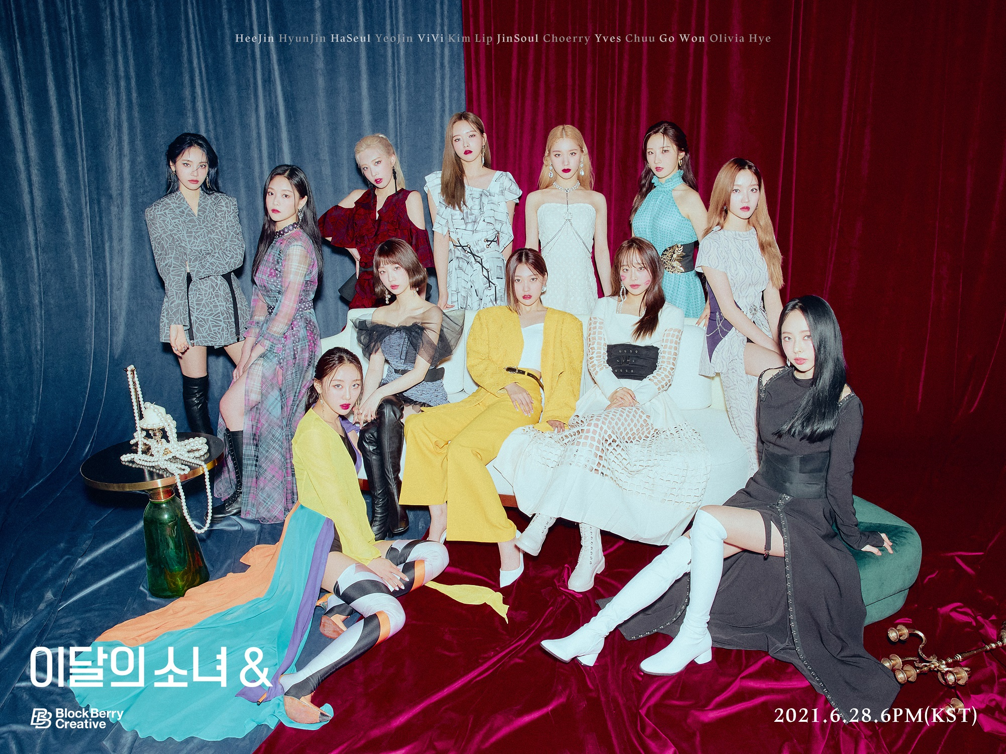 LOONA And Teaser Group