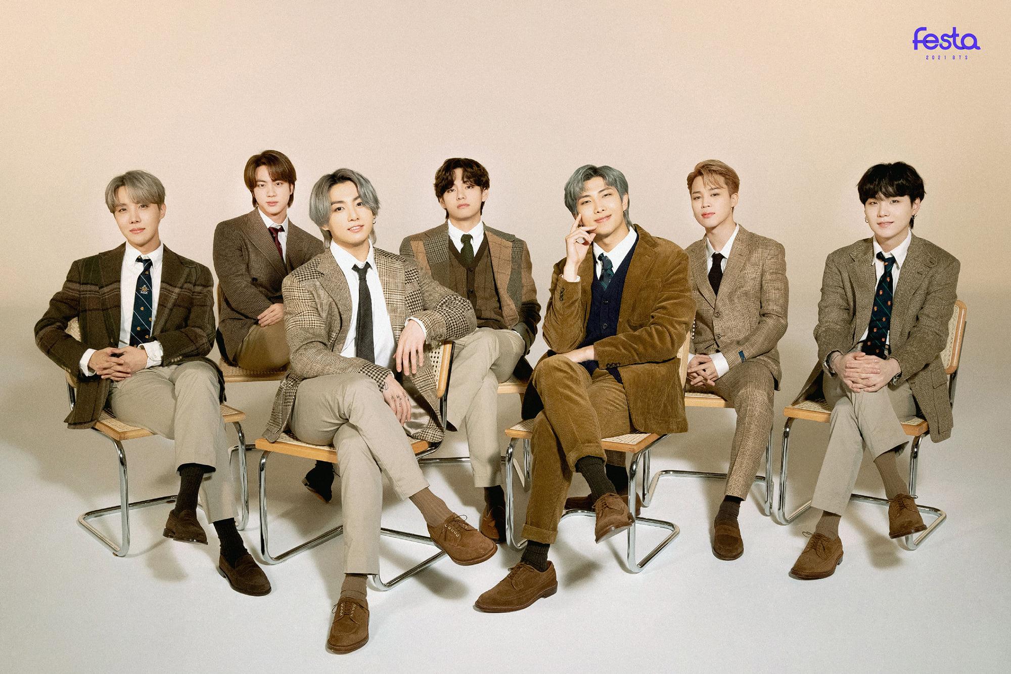 BTS Festa 20 Family Portrait Photos HD/HQ   K Pop Database ...