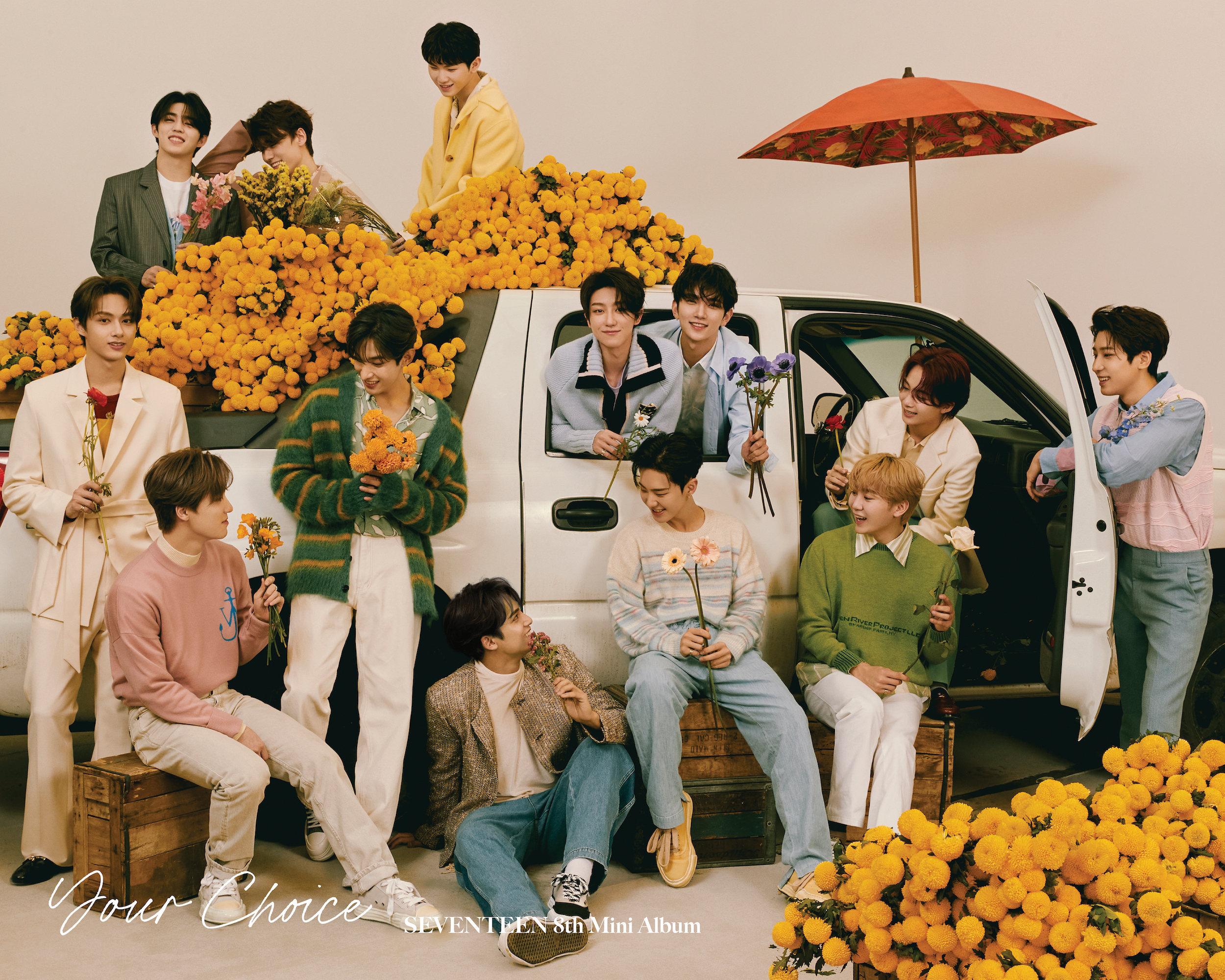 Seventeen Your Choice Teaser / Concept Photos (60 Photos, HD/HQ) - K-Pop  Database / dbkpop.com