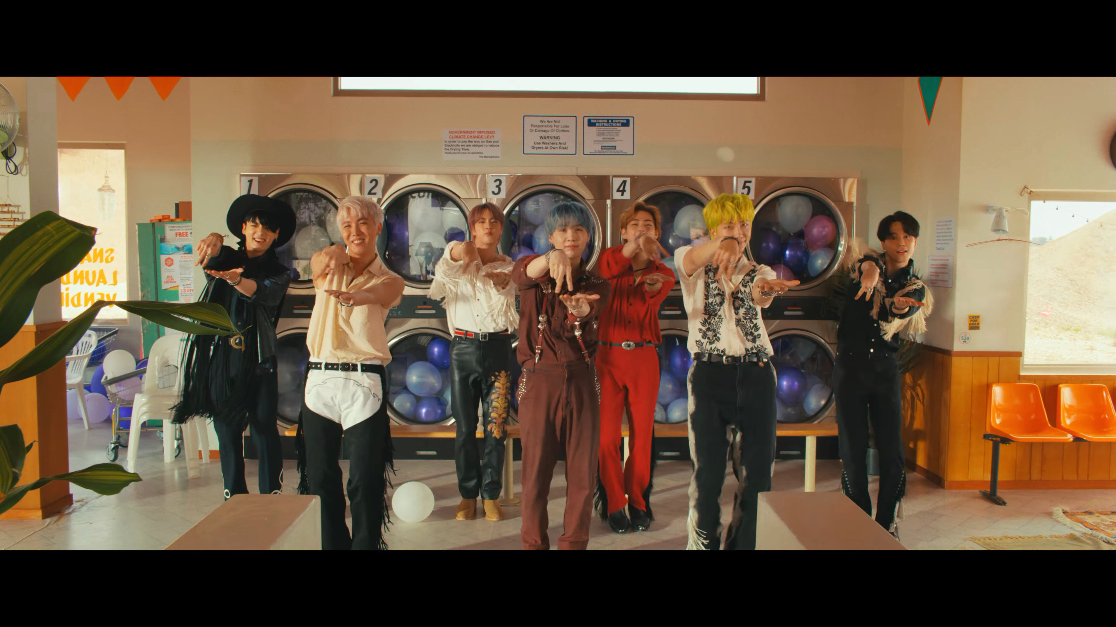 BTS Permission to Dance who's who
