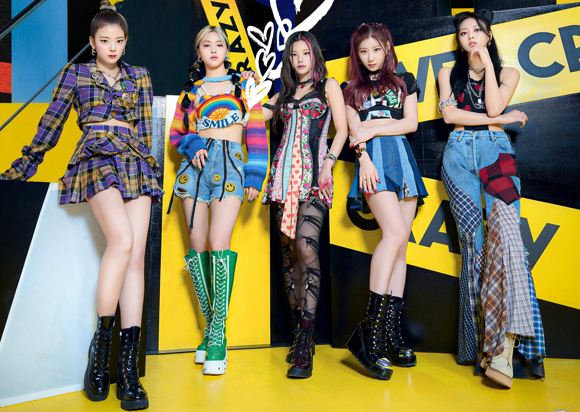 ITZY Crazy in Love Teaser Loco Group