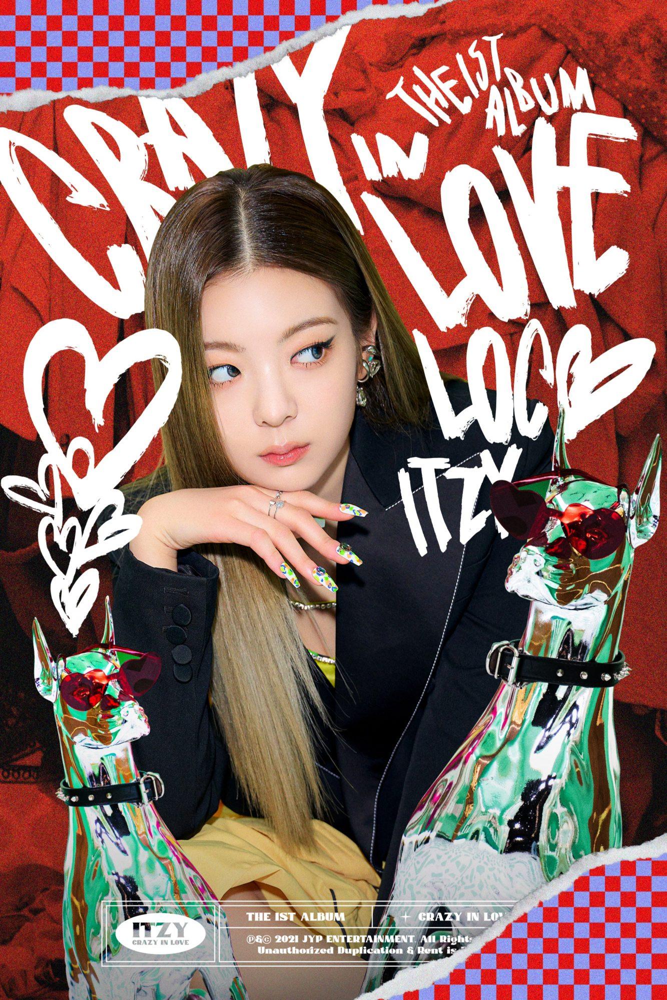 ITZY Lia Crazy in Love Teaser Loco