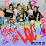 ITZY Crazy in Love Teaser Photobook Group